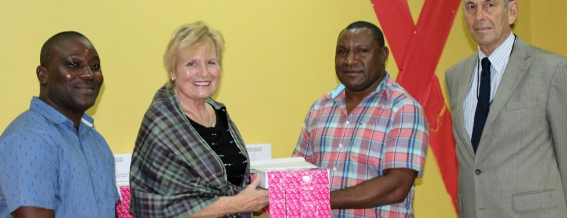 USAID covers the gap for condom supplies in PNG.